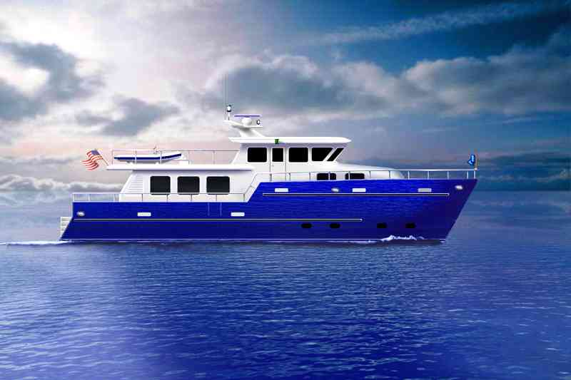 Trawler Power Catamaran